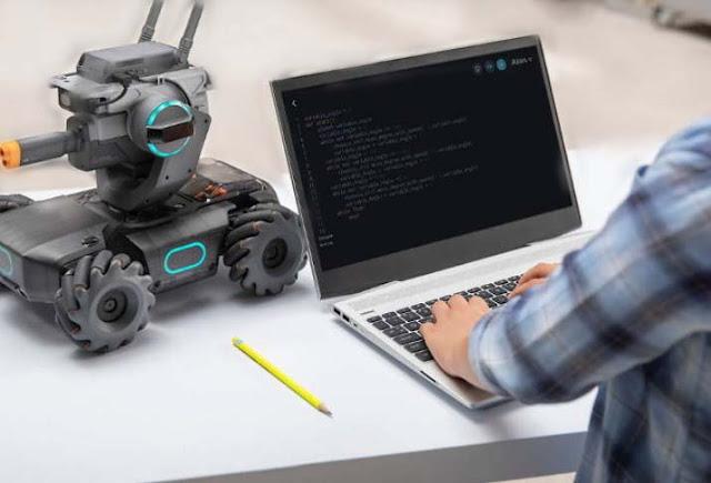DJI first launched robot (coding teacher)