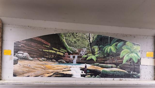 Hazelbrook Street Art | Michael Lynn