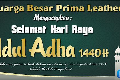 Contoh Desain Banner Spanduk Hari Raya Idul Adha 1440 H Cdr