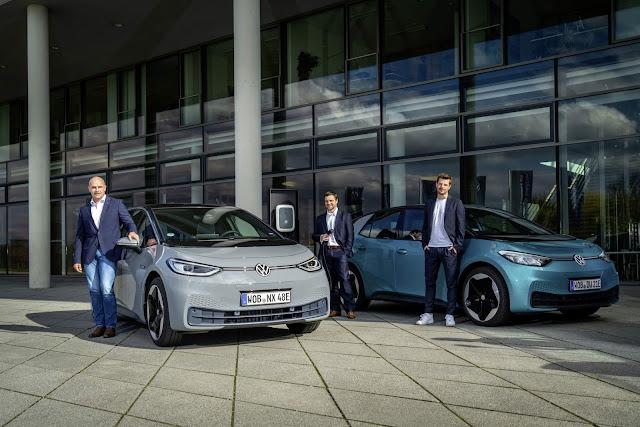 VW: carregar carro elétrico será tão fácil quanto um celular