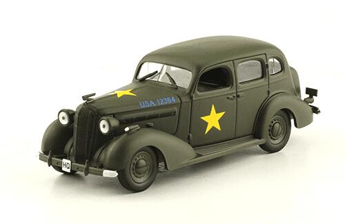 BUICK SPECIAL SERIES 40 1:43, voitures militaires de la seconde guerre mondiale