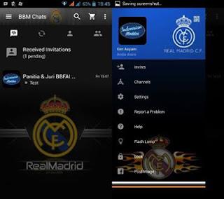 BBM MOD Real Madrid Versi 3.0.0.18 Apk Terbaru
