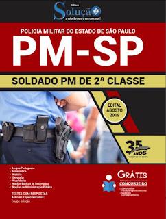 Apostila do Concurso  PM-SP - 2019 - Soldado PM 2ª Classe na Banca Vanildo