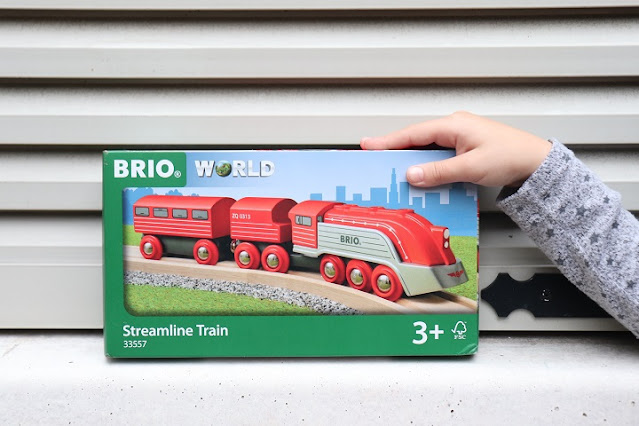 train aerodynamique brio - 33557