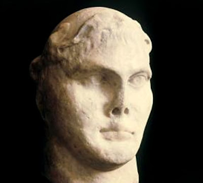 Roman Emperor Constantine artefact goes on show in Rome