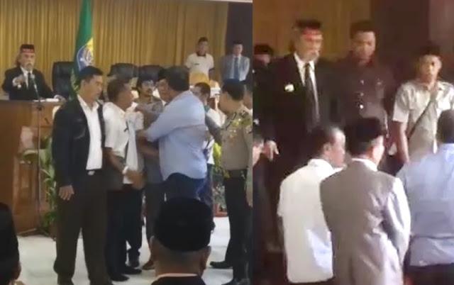 Bupati Tolitoli dan Wakilnya Bertengkar Nyaris Adu Jotos