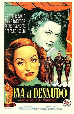 All About Eve -  foreign movie poster