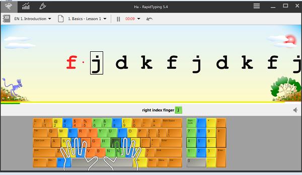 Tải RapidTyping - Phần mềm gõ 10 ngón Rapid Typing 5.4 bản mới nhất a