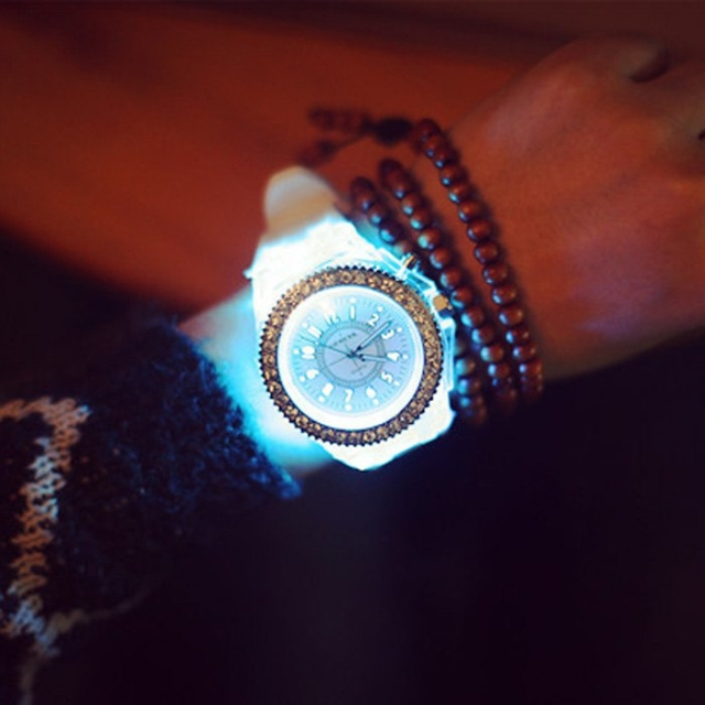 Luminous light watch