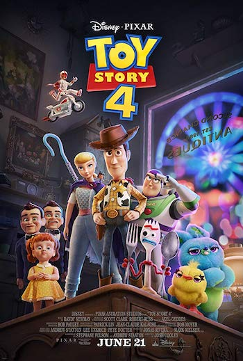 Toy Story 4 2019 Hindi Dual Audio HDCAM 900MB 720p