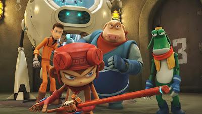 Sam ve robot arkadaşları
