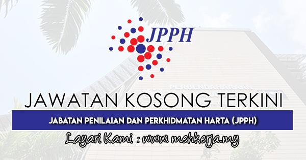 Jawatan Kosong Terkini 2019 di Jabatan Penilaian Dan Perkhidmatan Harta (JPPH)