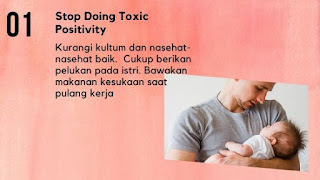 toxic positivity bisa memperparah baby blues