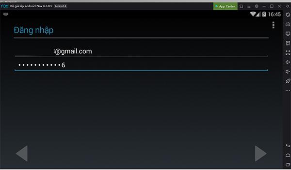 Cách đăng nhập Ch Play - Google Play Store trên giả lập Nox App Player 2