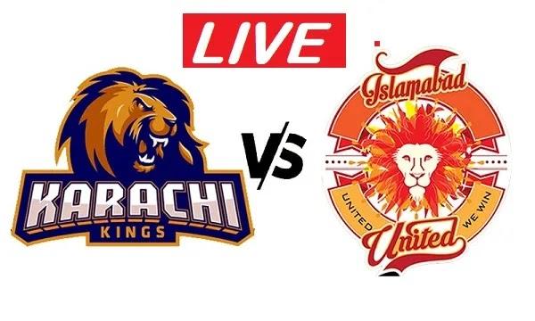 Karachi Kings vs Islamabad United Match Live Streaming