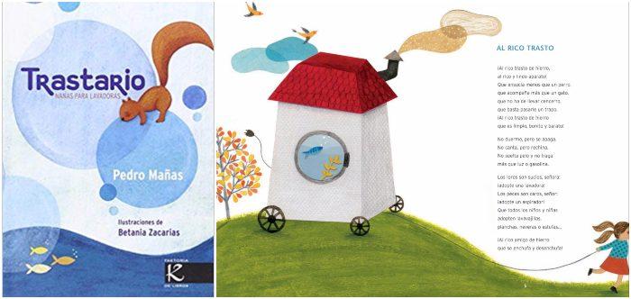mejores libros de poesía infantil para niños, Trastario Pedro Mañas