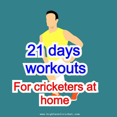 Best Cricket fitness workout at home