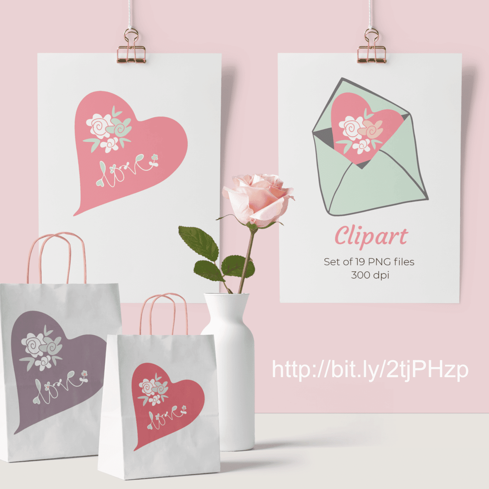 CLIPART Love Letters