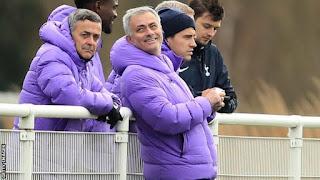 Tottenham boss Jose Mourinho slept at training ground to prepare for Burnley