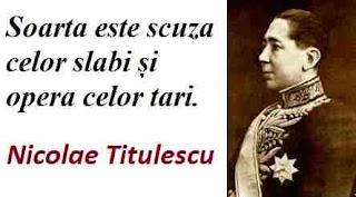Maxima zilei: 4 martie - Nicolae Titulescu