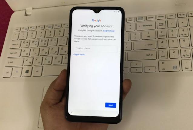 Cara Hapus Samsung A10s SM-A107F FRP / Akun Google Verifikasi Via Remote Online