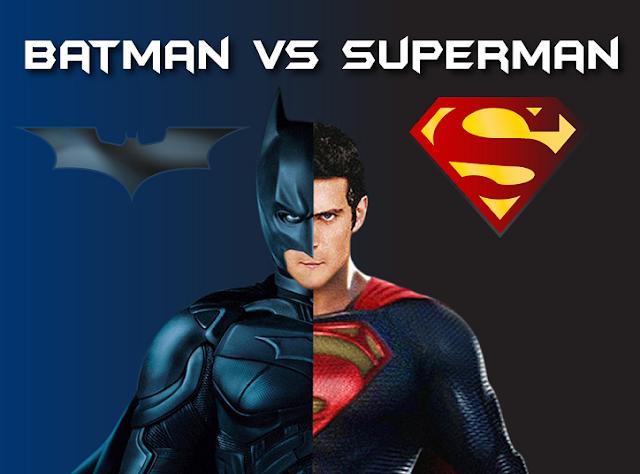 Batman Vs Superman  #Infographic