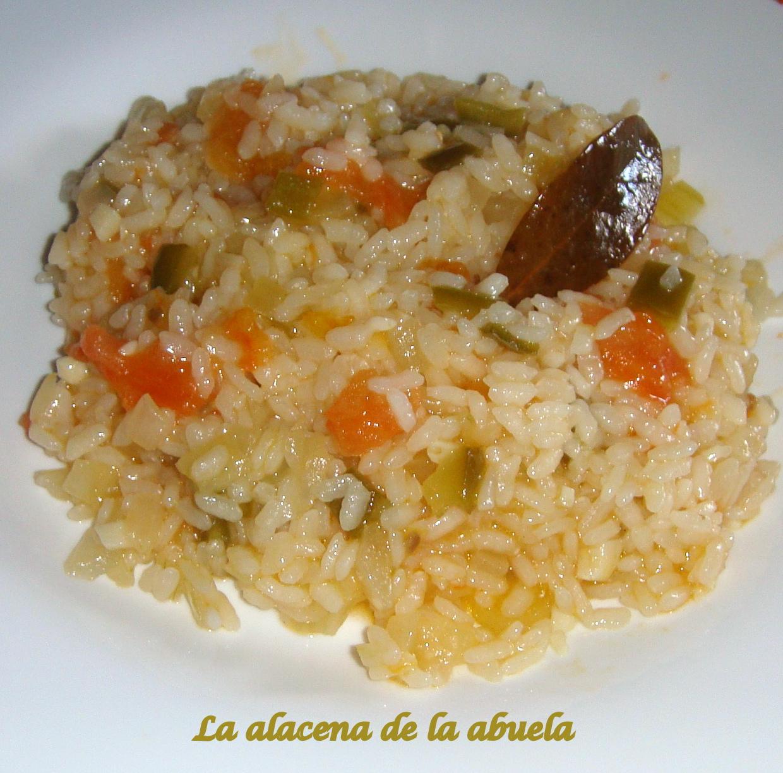 La alacena de la abuela carmen arroz monacal for Cocina casera de la abuela