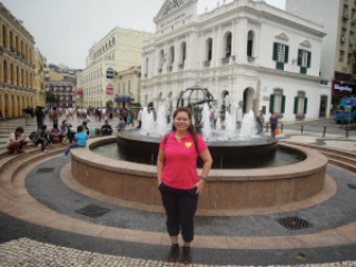 Exploring the Largo do Senado in Macau