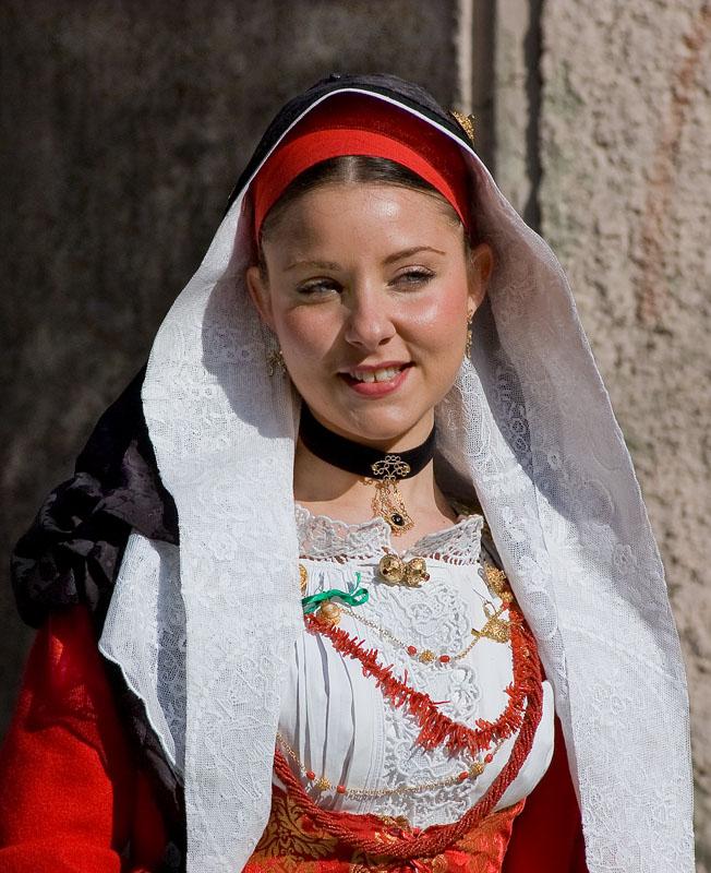 Typical Italian Woman