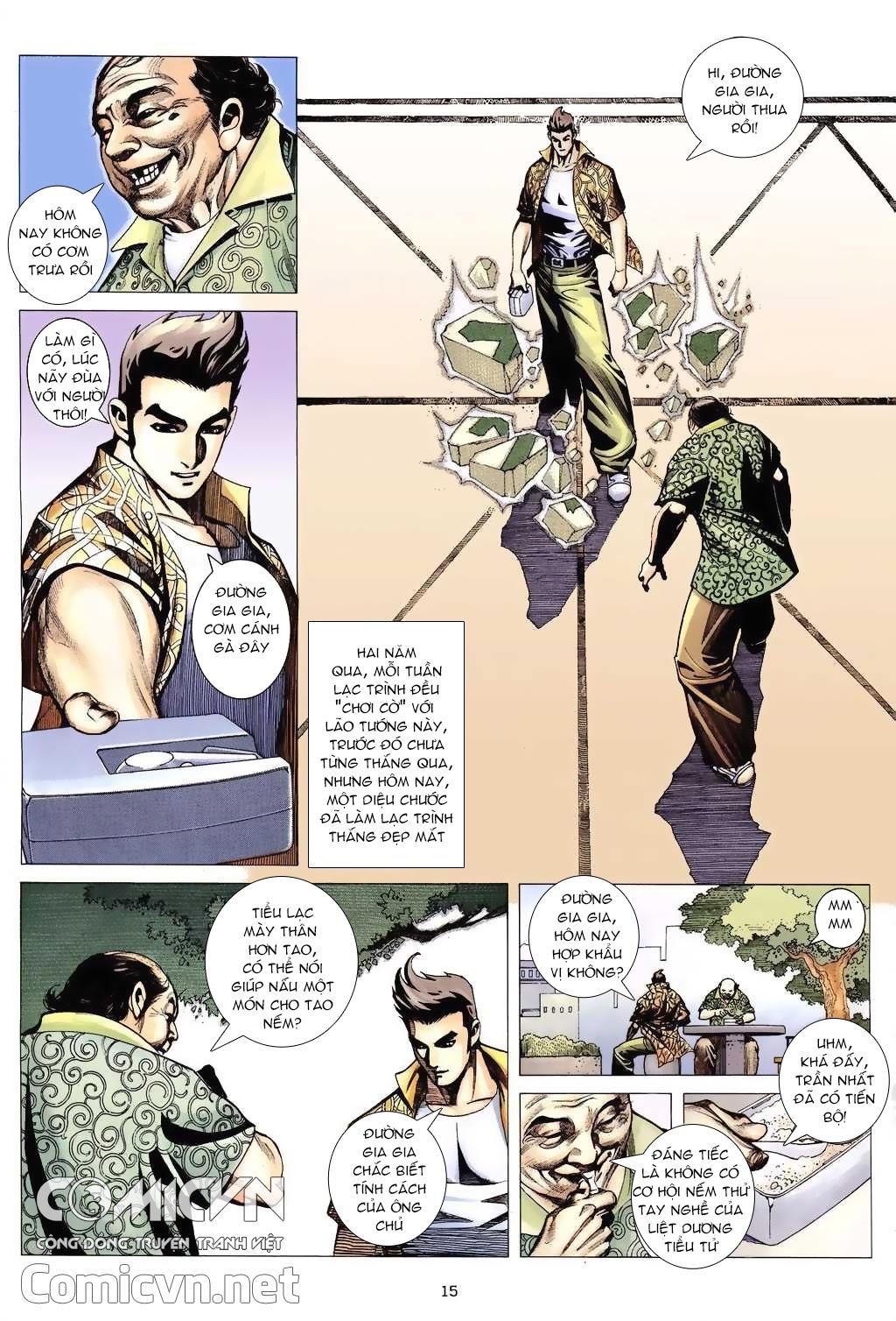 Xích Trụ Phạn Đường chap 6 - Trang 15