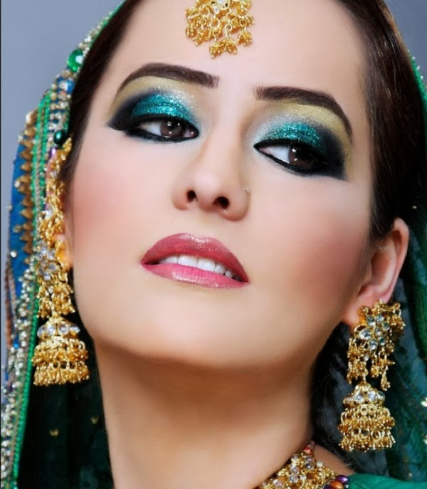 Indian Bridal Eye Makeup: Latest Trend Of Indian Bridal MakeUp From 2014