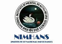 NIMHANS 2021 Jobs Recruitment Notification of Senior Resident Posts