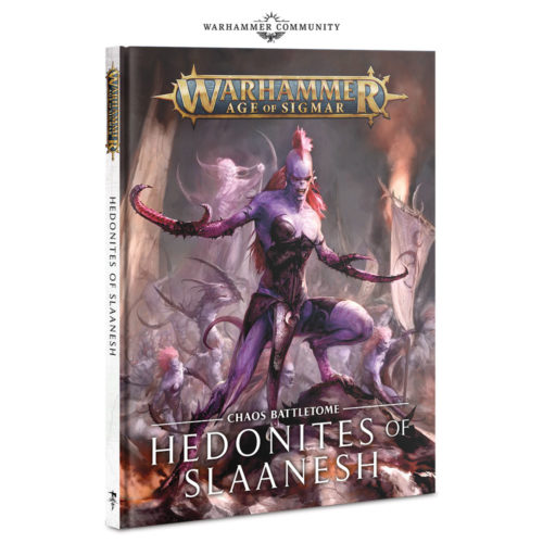 Battletome Hedonitas de Slaanesh