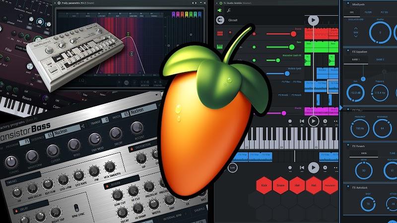 FL Studio Fruity Loops 20.7.3.1987