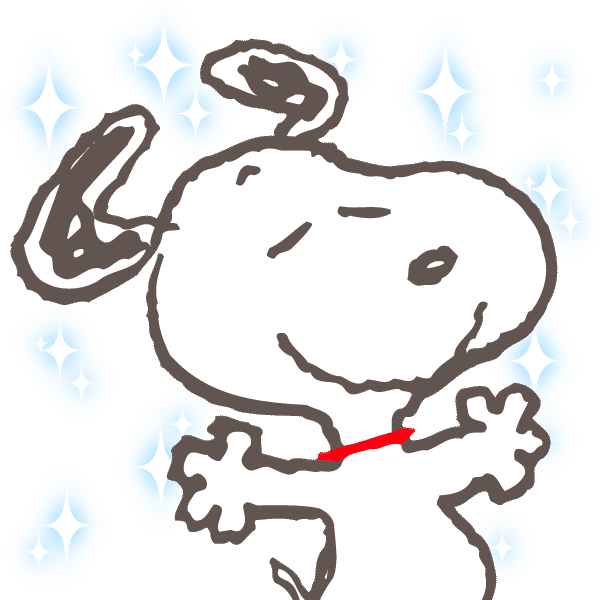 Snoopy | [PNG Pack] Sticker LINE Camera