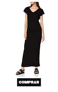 Vestido para Mujer Largo, color negro