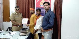 हिन्दू एकता संगठन ने की थानाध्यक्ष जलालपुर के तबादले की मांग, यह है वजह | #NayaSabera