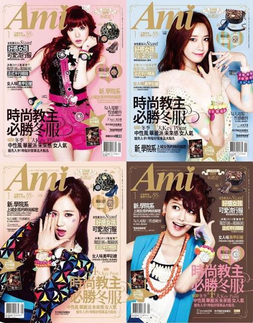SNSD AMI Magazine