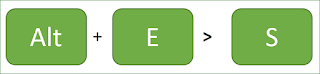 Paste Special Shortcuts Excel