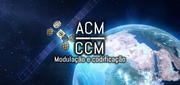 O que é acm e ccm em transmissão por satélites