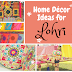 Home Décor Ideas for Lohri or Makar Sakranti