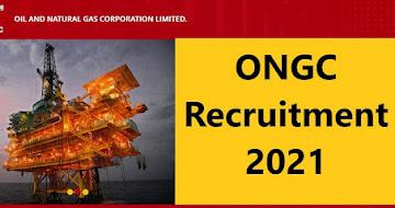 ONGC Recruitment 2021 – 309 Graduate Trainee Vacancy, Online Apply