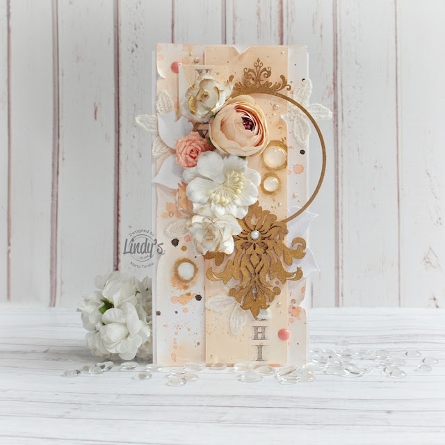 Mixed Media card with a frame