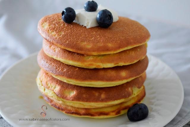 Keto Pancakes Tortitas bajas en hidratos