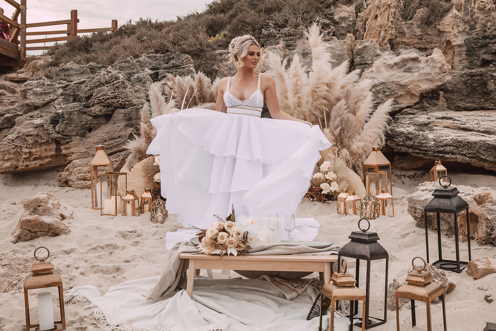 images by taylor mitchell photography perth elopement wedding bridal gowns florals