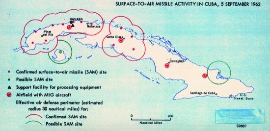 Misiles en Cuba (1962)
