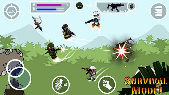 Mini Militia 2 Mod Apk Android