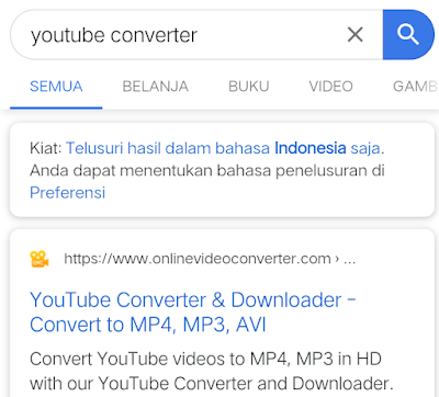 Cara Download Video / Audio Youtube ke MP4,MKV,WAV,FLV dll