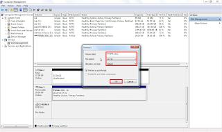 Cara Format Harddisk Atau Flashdisk Dengan Mudah