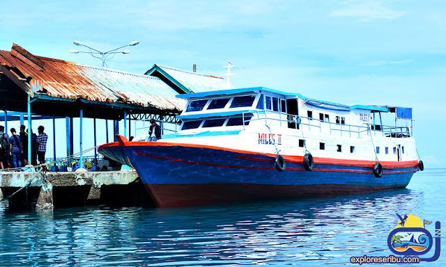 Kapal Kaliadem ke Pulau Harapan